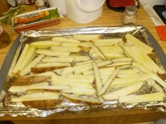 Fries Ready For Oven