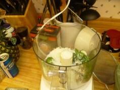 Prepping The Pesto