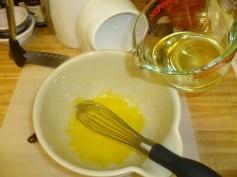 Adding Vegetable Oil