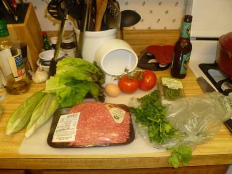Burger Ingredients