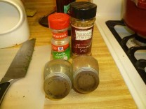 Dill, Garlic Powder, Steak Seasoning & Tastefully Simple Seasoning Salt