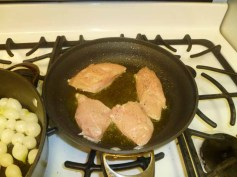 Pan Frying Chicken