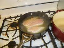 Boiling Chicken Breasts In Broth