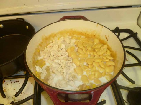Milk & Butter Beans Added