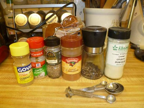 Pork Rub Ingredients