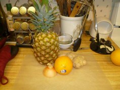 Grilled Pineapple Relish Ingredients