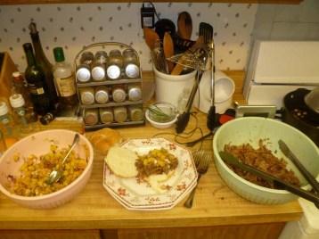 Pineapple Relish, Sandwich & Pulled Pork