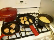 Grilling Chicken On The Stove