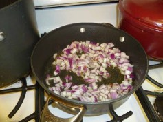 Onions In The Pan
