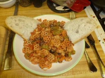 Tuna Puttanesca Plated
