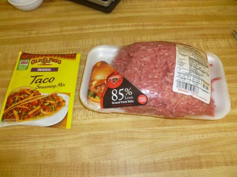Ground Beef & Taco Seasoning