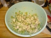 Chicken Salad Veronique