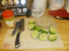 Squeezed Limes