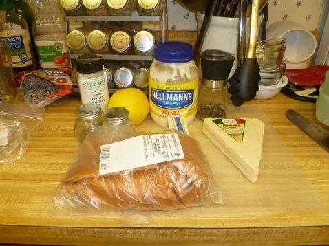Broiled Tilapia Parmesan Ingredients