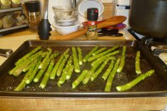 Asparagus Ready For Oven