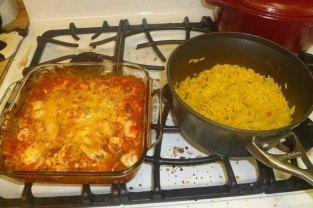 Salsa Chicken & Mexican Rice
