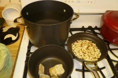 Water Boiling, Almost Toasting & Stock Thawing