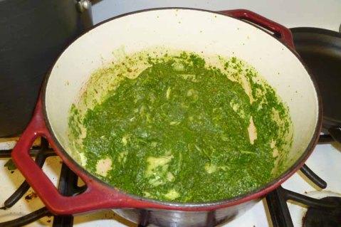 Pesto Added To Artichokes