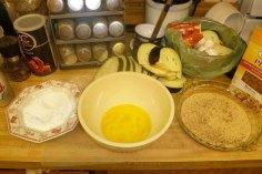 Eggplant Dredge Set Up