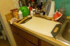Cutting Board Next To Sink