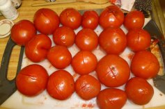 Boiled Tomatoes