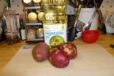Baked Potato Ingredients