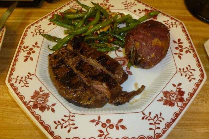 Steak, Potatoes & Green Beans