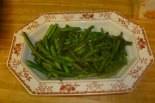 Green Beans Cooked In Olive Oil & Salt