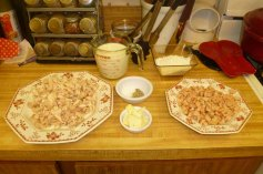 Chicken, Sausage and Everything Else Prepped
