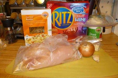 Italian Baked Chicken & Pastina Ingredients