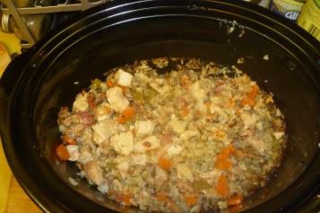 Herbed Turkey And Wild Rice Casserole