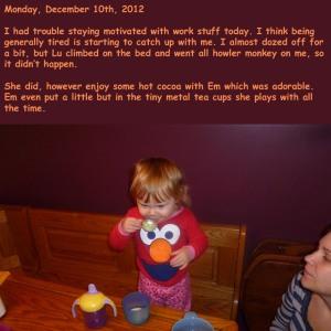 Monday, December 10th, 2012