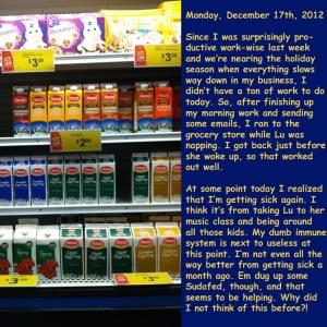 Monday, December 17th, 2012