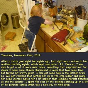 Thursday, December 13th, 2012