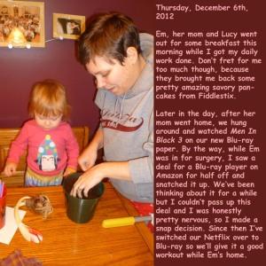 Thursday, December 6th, 2012
