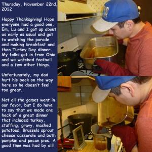 Thursday, November 22nd, 2012