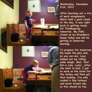 Wednesday, November 21st, 2012