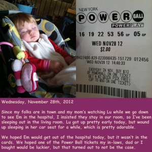 Wednesday, November 28th, 2012