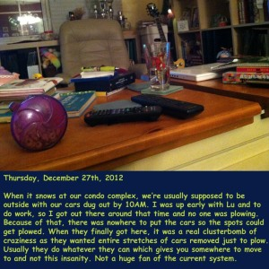 Thursday, December 27th, 2012