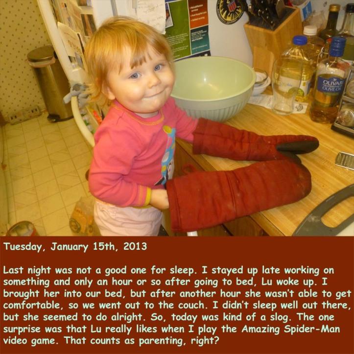 Tuesday, January 15th, 2013
