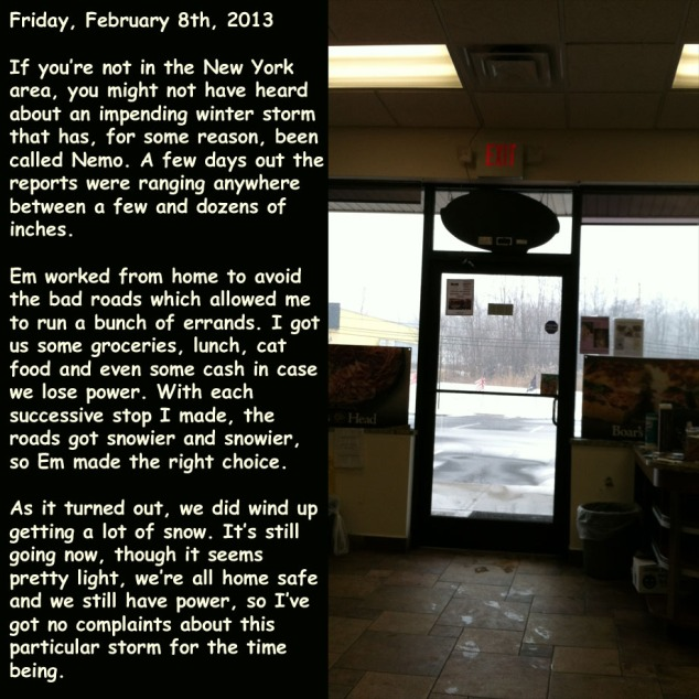 Friday, February 8th, 2013