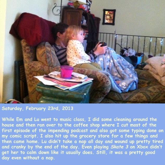 Saturday, February 23rd, 2013