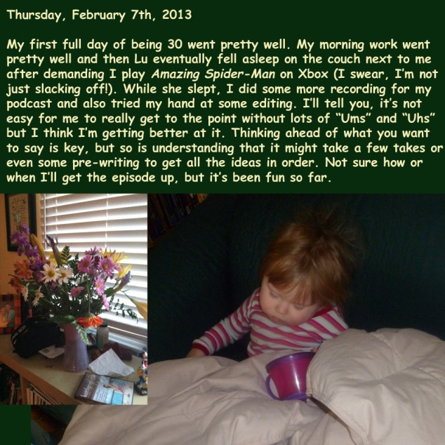 Thursday, February 7th, 2013