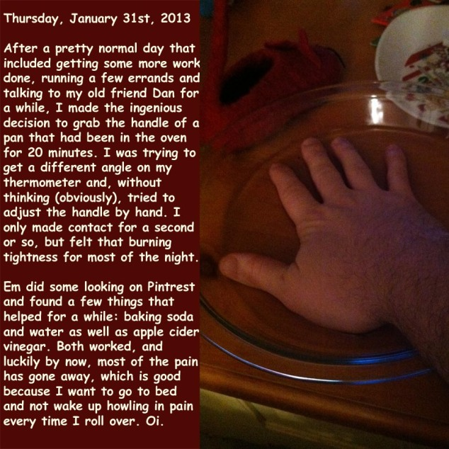 Thursday, January 31st, 2013