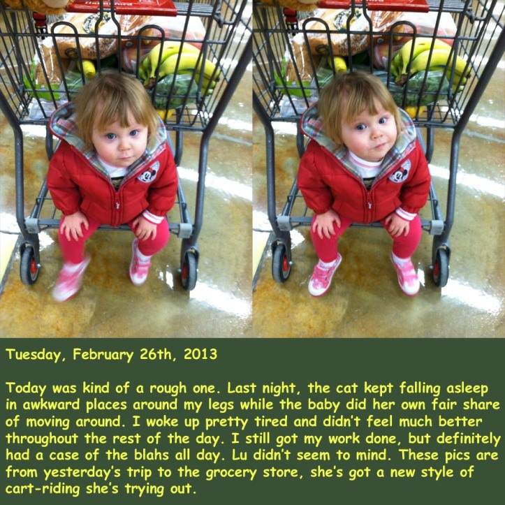 Tuesday, February 26th, 2013
