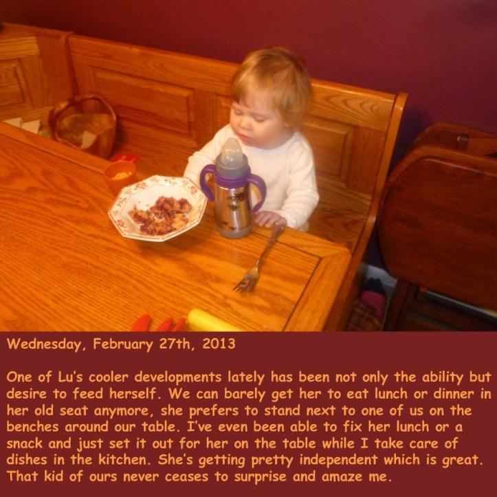 Wednesday, February 27th, 2013