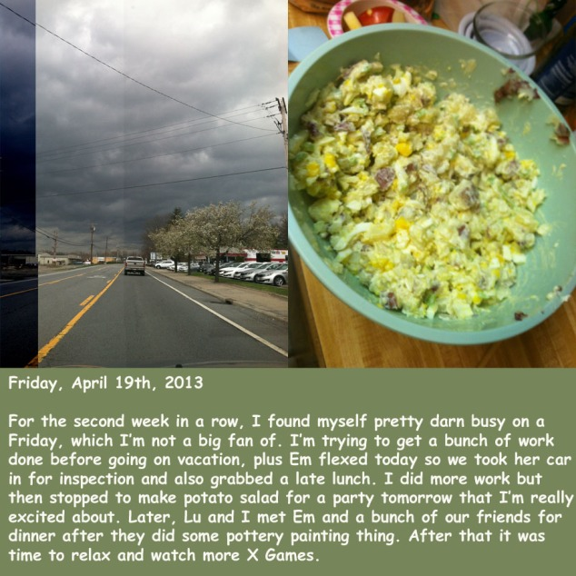 Friday, April 19th, 2013