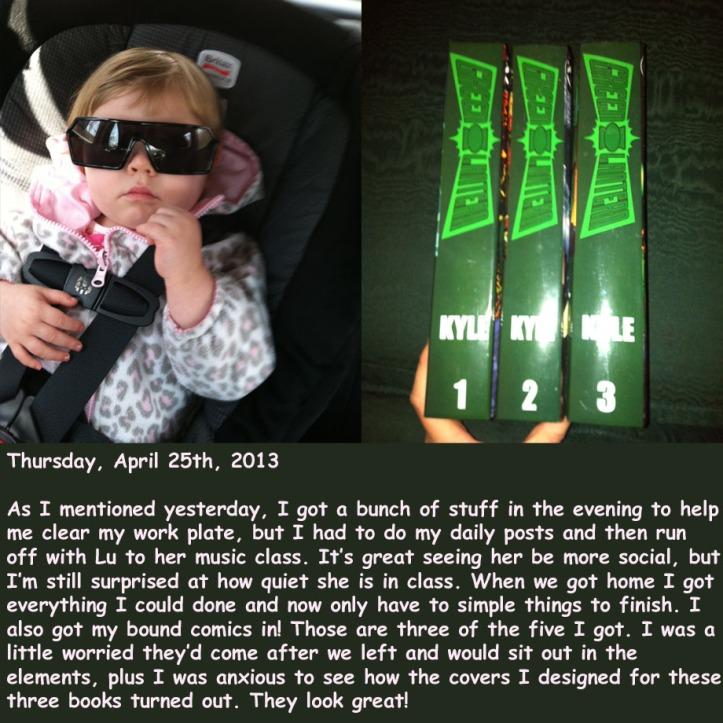 Thursday, April 25th, 2013