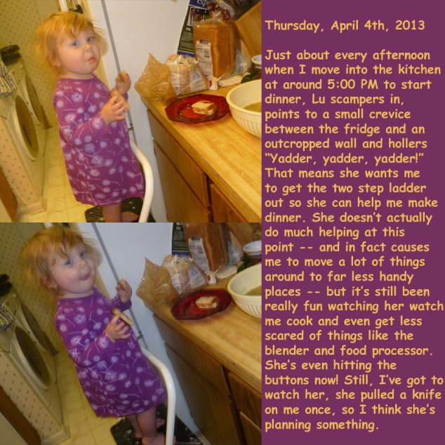 Thursday, April 4th, 2013