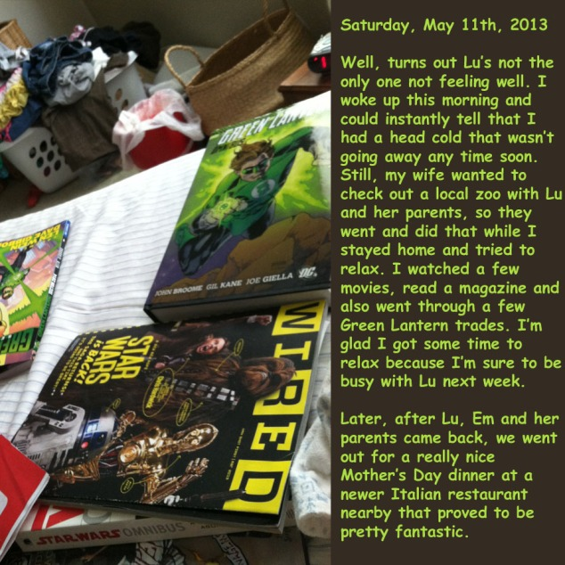 Saturday, May 11th, 2013